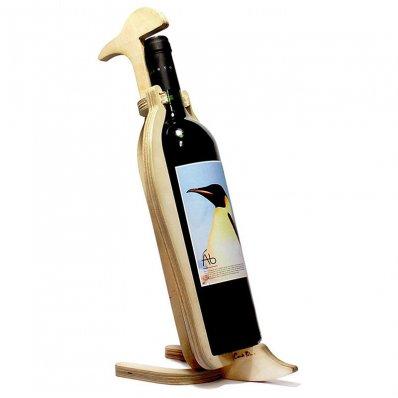 Kostny stojak do wina