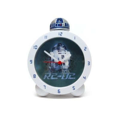 Budzik Star Wars R2-D2 podświetlany - z efektami dźwiękowymi