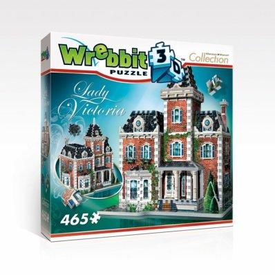 Puzzle 3D Lady Victoria - 465 elementów