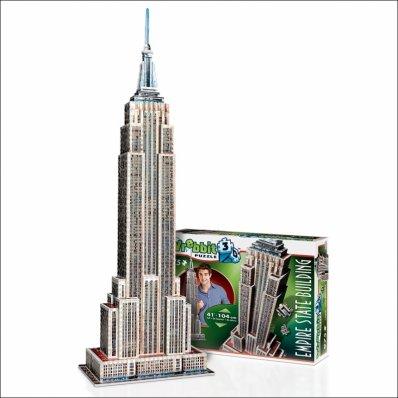 Puzzle 3D Empire State Builiding - 975 elementów