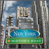 Puzzle 3D New York Midtown West - 900 elementów