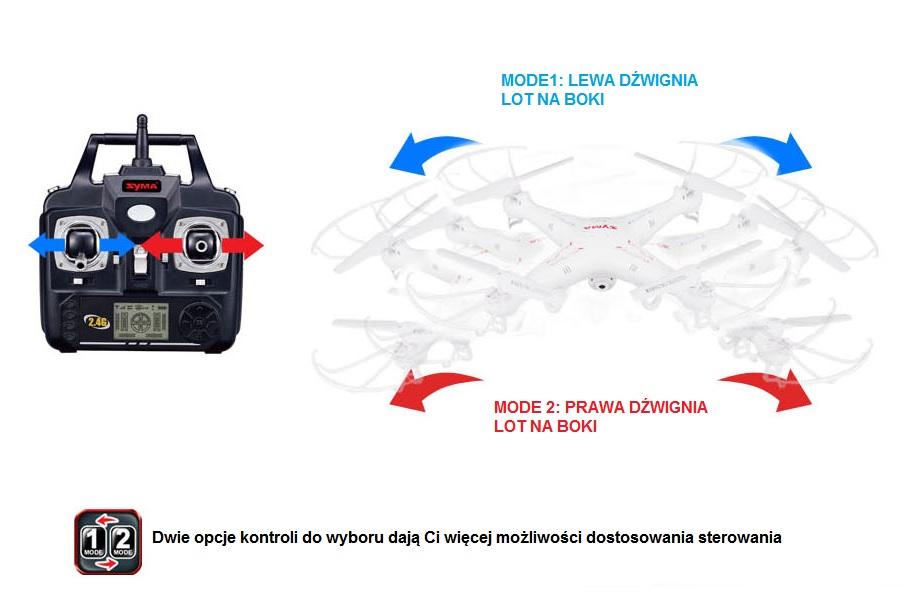 Dron latający SymaX5C