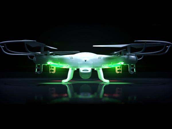 Dron latający i jego możliwości