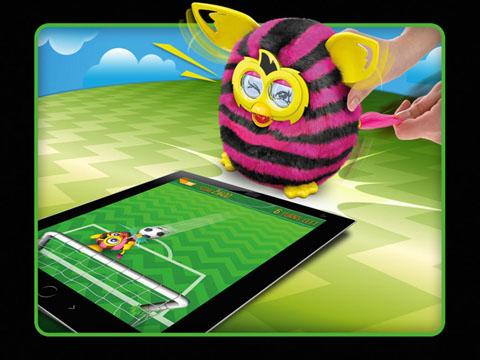 Furby Boom na aplikacji mobilnej