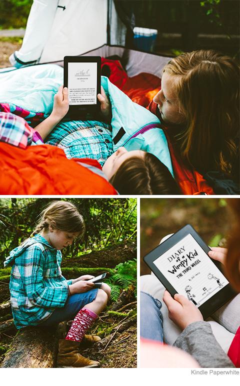 Kindle Paperwhite3 - całkowicie mobilny