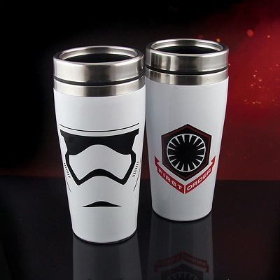 Kubek termiczny Star Wars - Stormtrooper - przód i tył