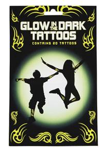 świecące tatuaże