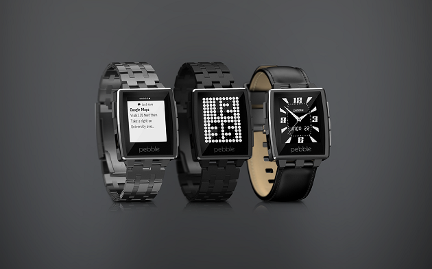 Smartwatch Android iOS Pebble Steel