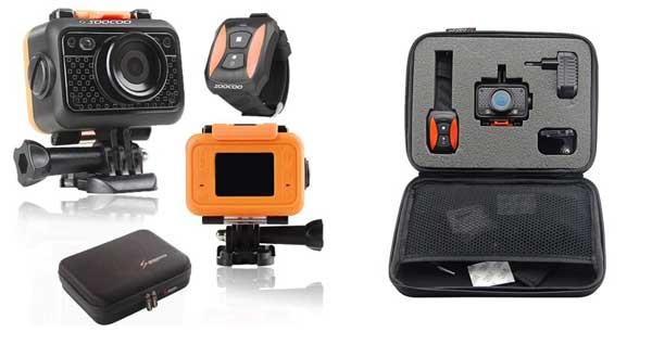 Kamera sportowa Soocoo S60 w podręcznej walizce