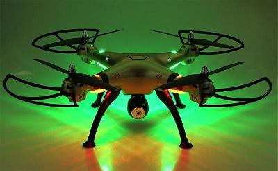 Podświetlenie drona Syma X8WH