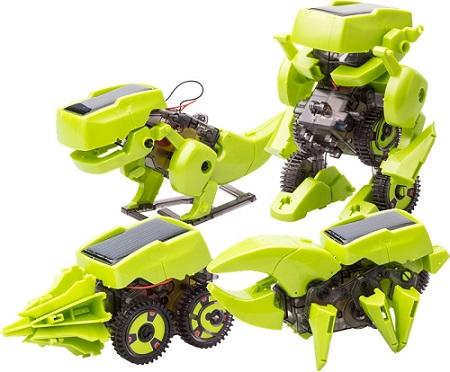 Robot Solarny - zestaw 4 w 1 zabawka edukacyjna