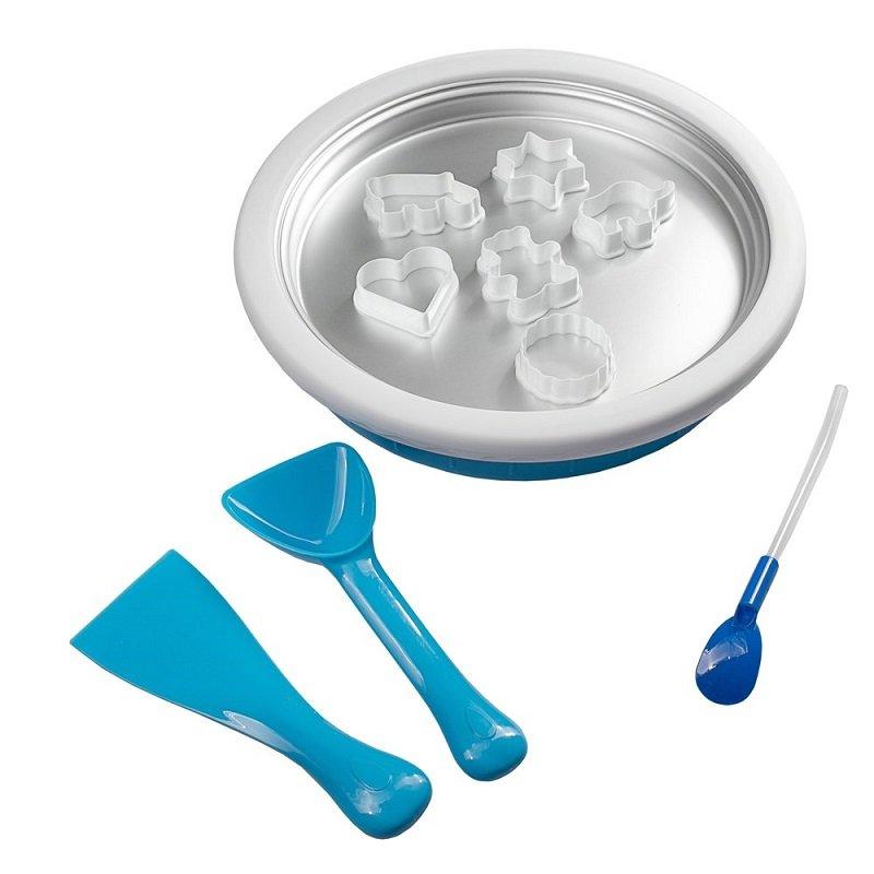 Przygotuj swój ulubiony przepis na lody, gdy misa się mrozi