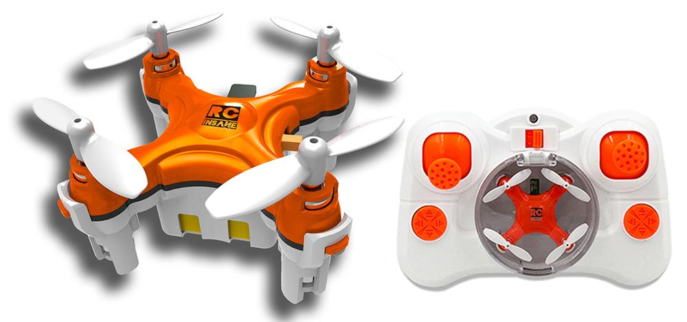 Najmniejszy quadrocopter na świecie - BuzzBee