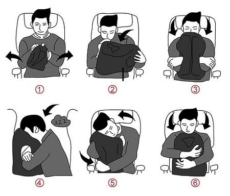Jak używać poduszki do chowania się przed światem.