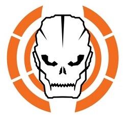 Logo Black Ops na kubku termicznym