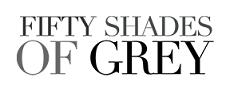 Oficjalne, tytułowe logo 50 Twarzy Greya