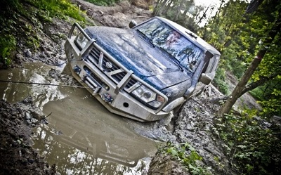 Jazda Off Road 4 x 4