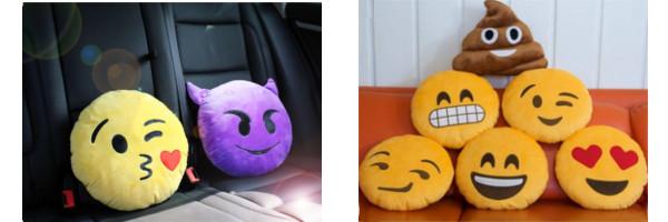 Poduszki Emoji - dobre na każdy nastój