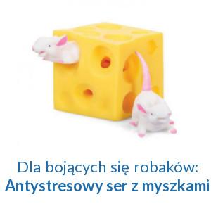 Antystresowe Robaczywe Jabłuszko czy Ser z Myszkami