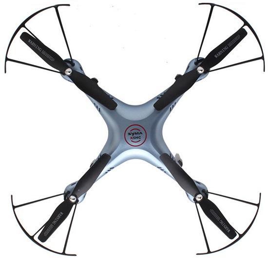 Latający dron z 6-osiowym żyroskopem