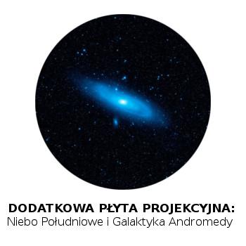 Płyta projekcyjna Homestar: Niebo Południowe i Galaktyka Andromedy