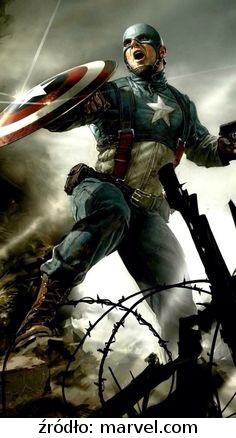 Kubek Marvel - Kapitan Ameryka II Wojna Światowa