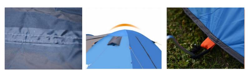 Namiot turystyczny Pekynew i świetne rozwiązania