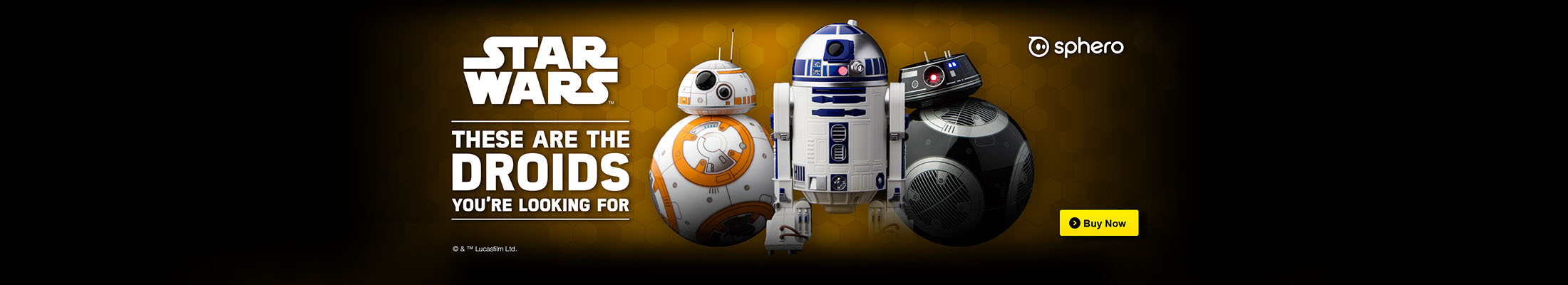 Roboty Star Wars Sphero - R2-D2, BB-8, BB-9E