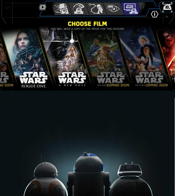 Obejrzyj Gwiezdne Wojny razem z R2-D2 Sphero i innymi droidami
