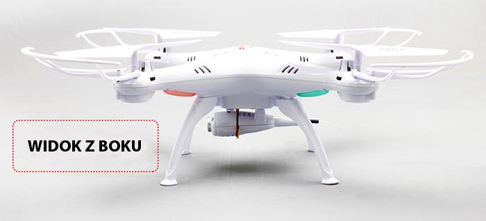 Dron Syma X5SW - widok z boku