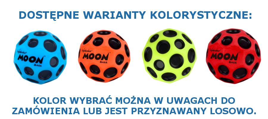 Piłka Waboba Moon - dostępne kolory