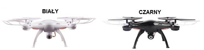 Dron Syma X5SW kolory